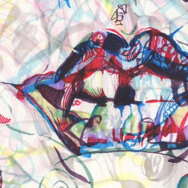 Prismatic Frankenfurter Detail
